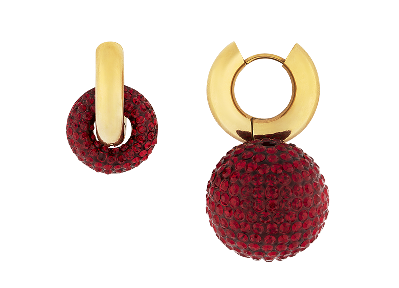 Disco lover earring by Timeless Pearly
