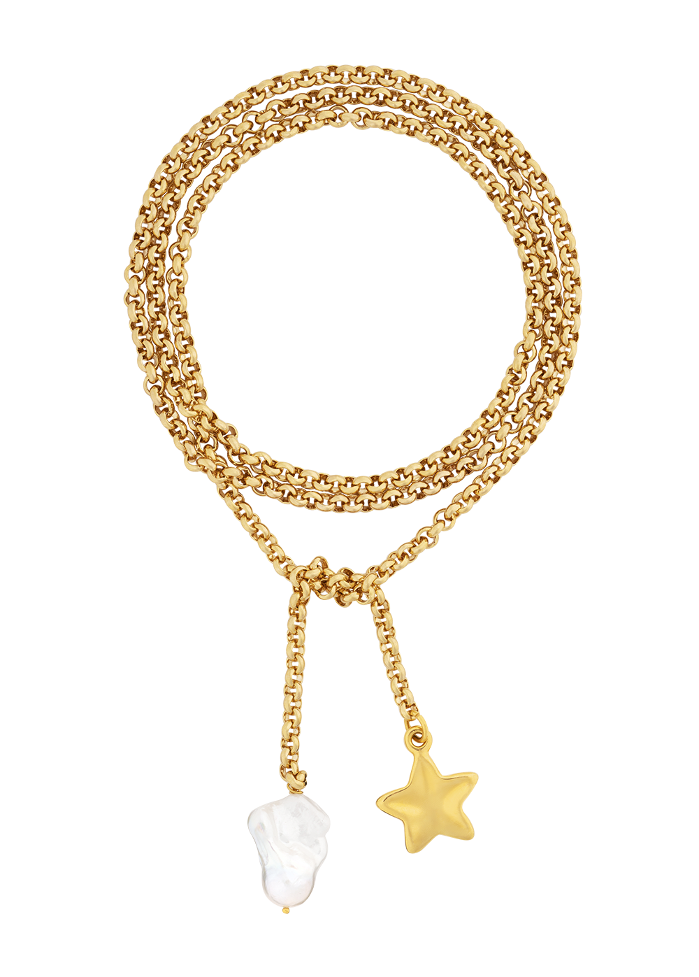 Starland necklace by Timeless Pearly
