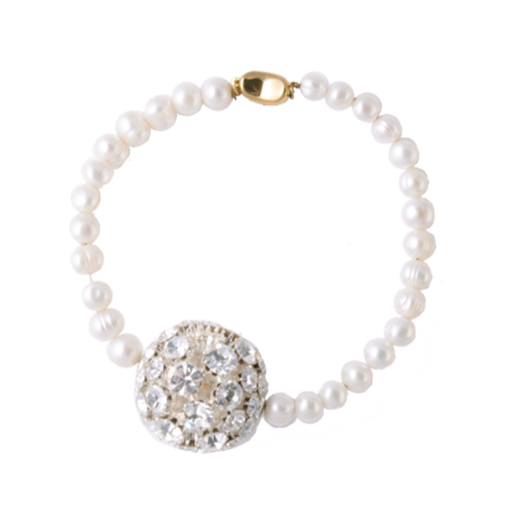 Ariel anklet by Timeless Pearly
