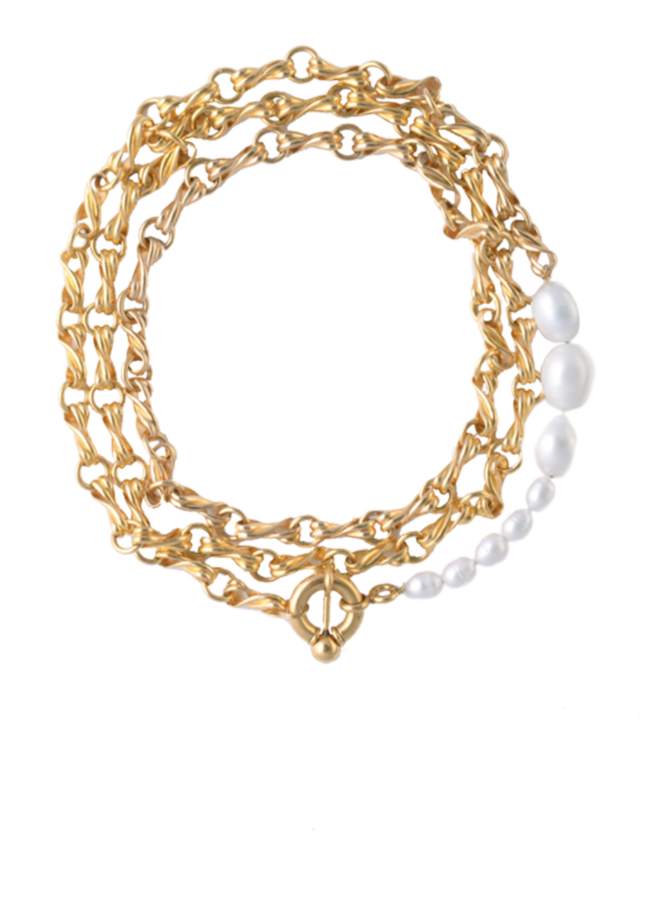 Elvira necklace by Timeless pearly