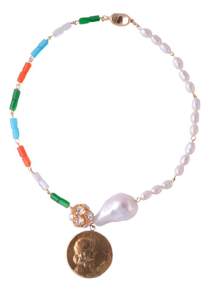 Bea necklace by Timeless Pearly