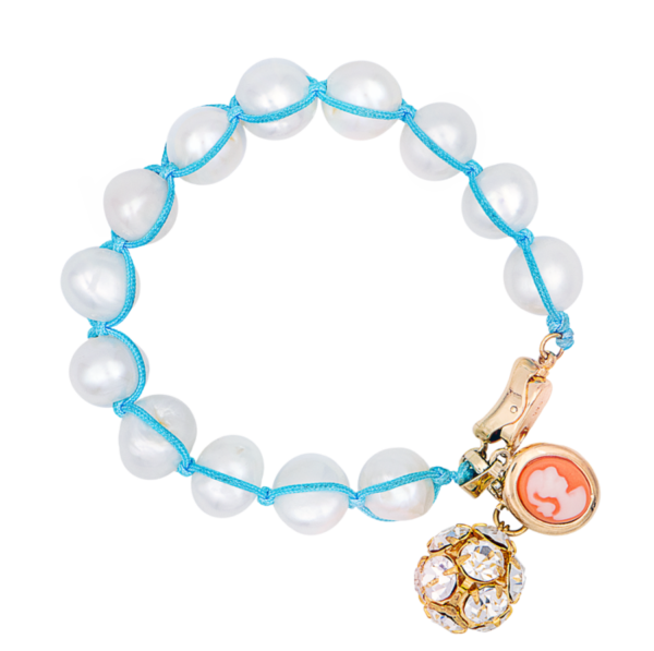 Cream bracelet by Timeless pearly