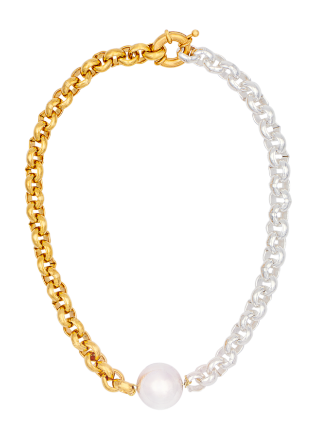 Cesar necklace by Timeless pearly