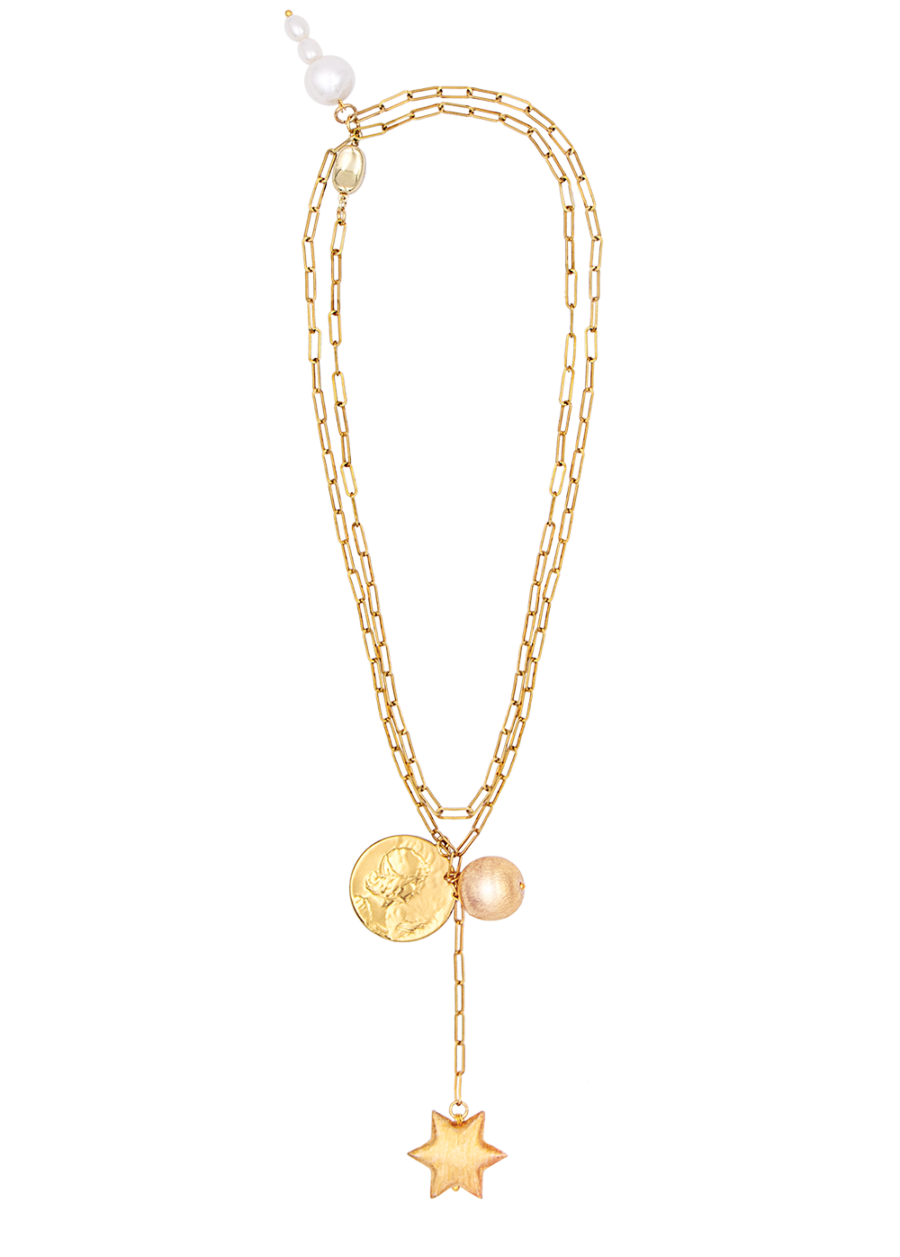Athene necklace by Timeless pearly
