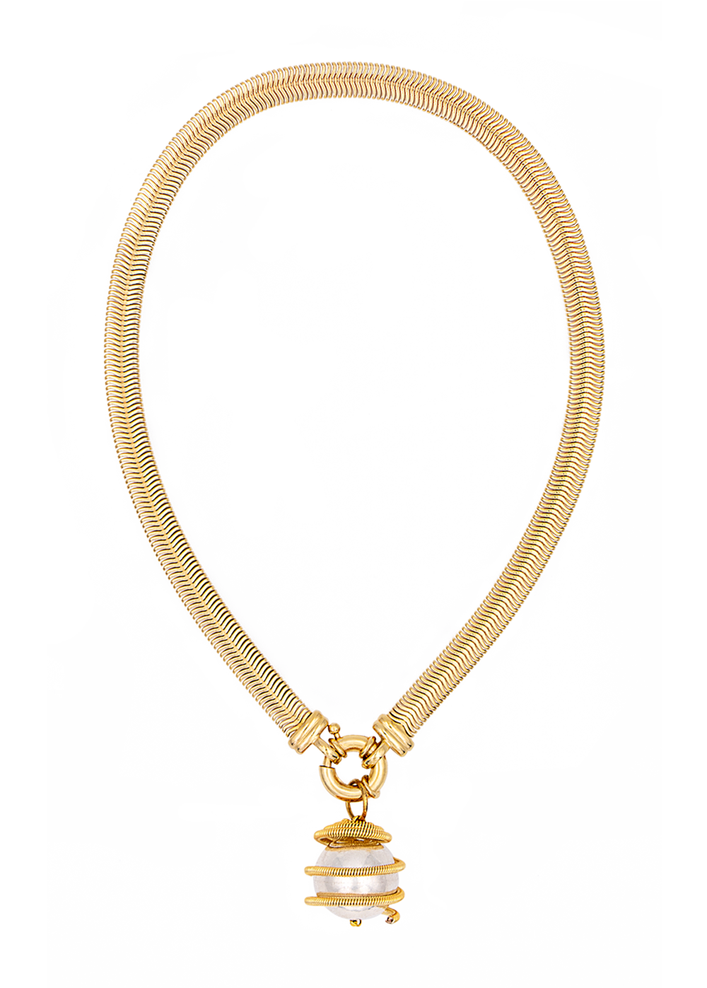 Lib necklace by Timeless Pearly