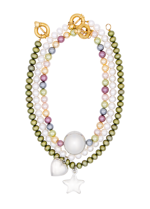Jungle necklace by Timeless pearly