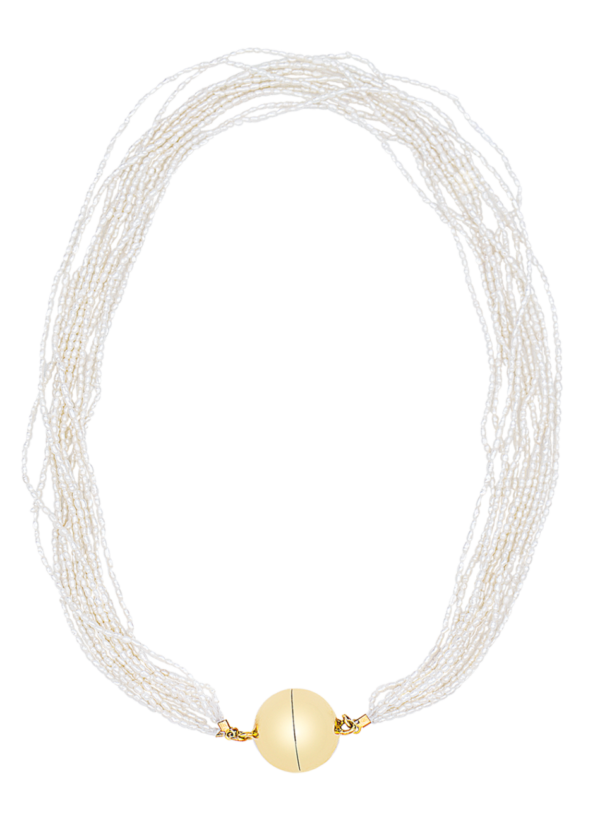 Inca necklace by Timeless pearly