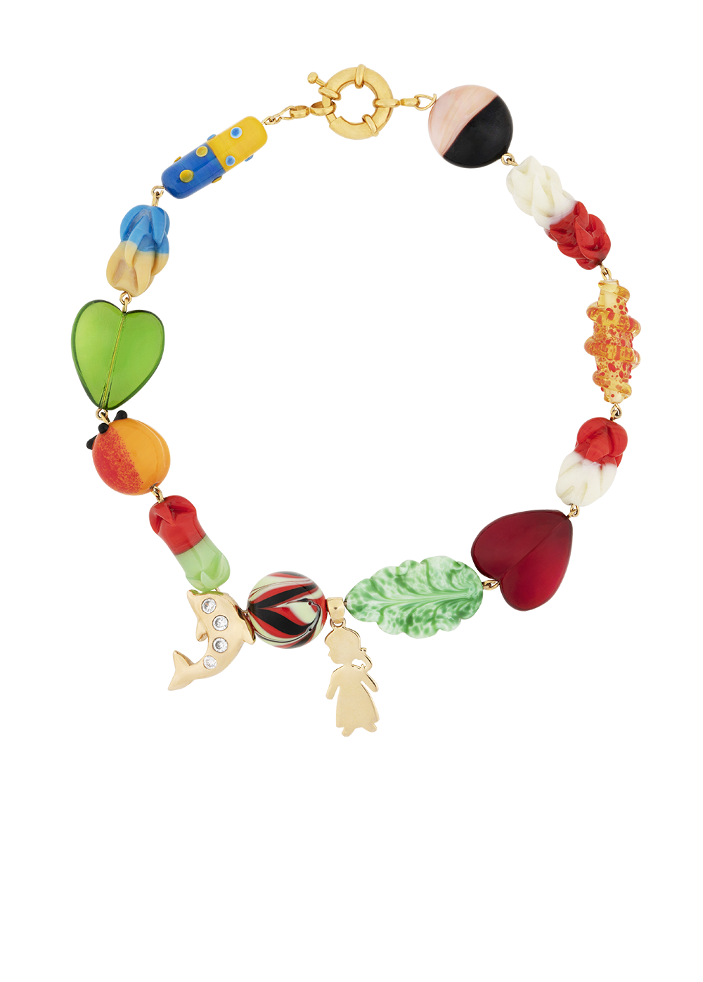 Fiesta necklace by Timeless Pearly