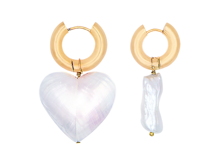Corazon earring by Timeless Pearly