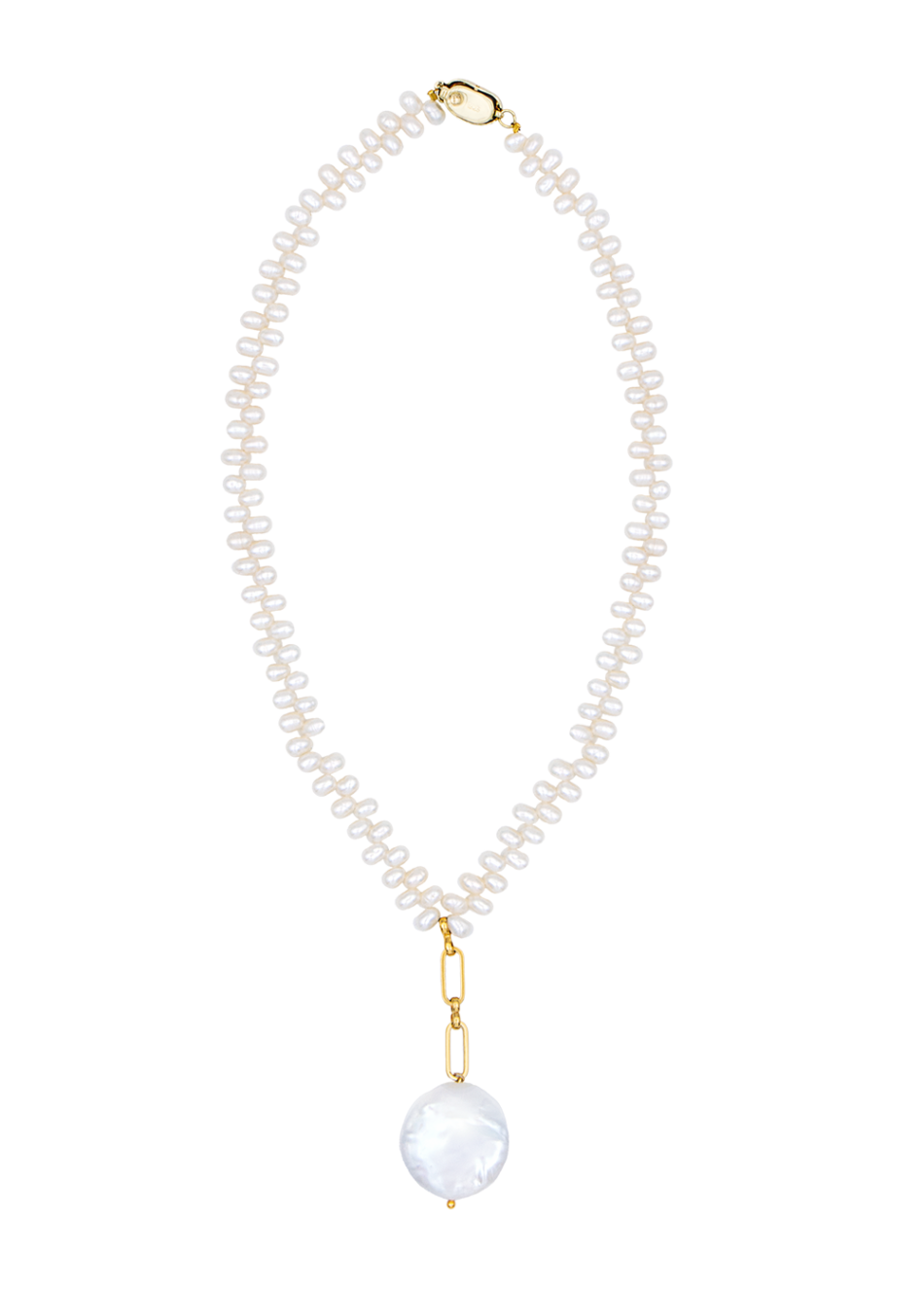 Indie necklace by Timeless pearly