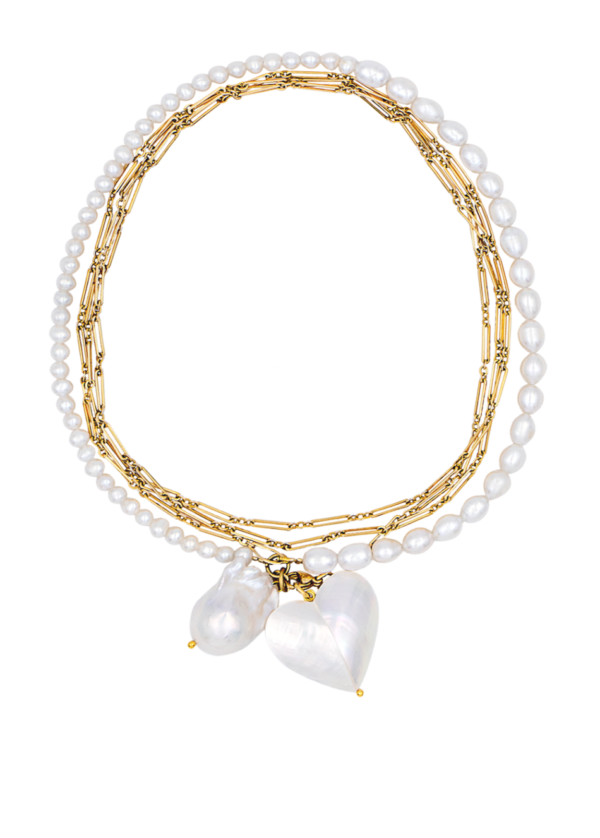 Lola necklace by Timeless pearly
