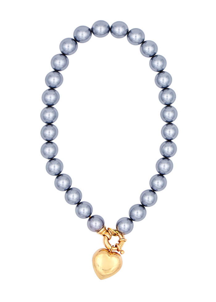 Goa necklace Timeless pearly