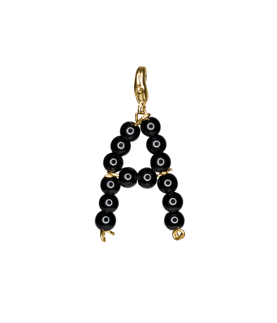 Black alphabet by Timeless Pearly