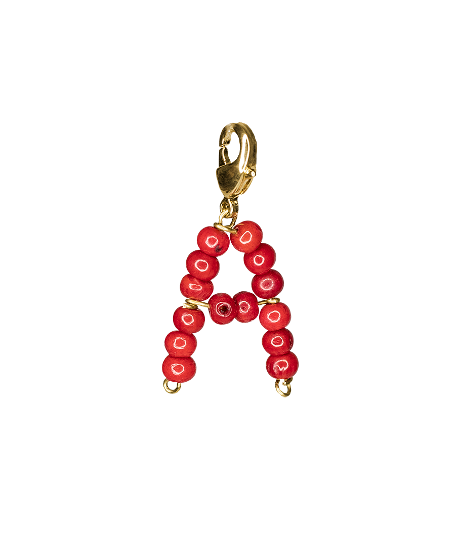 Red alphabet by Timeless Pearly