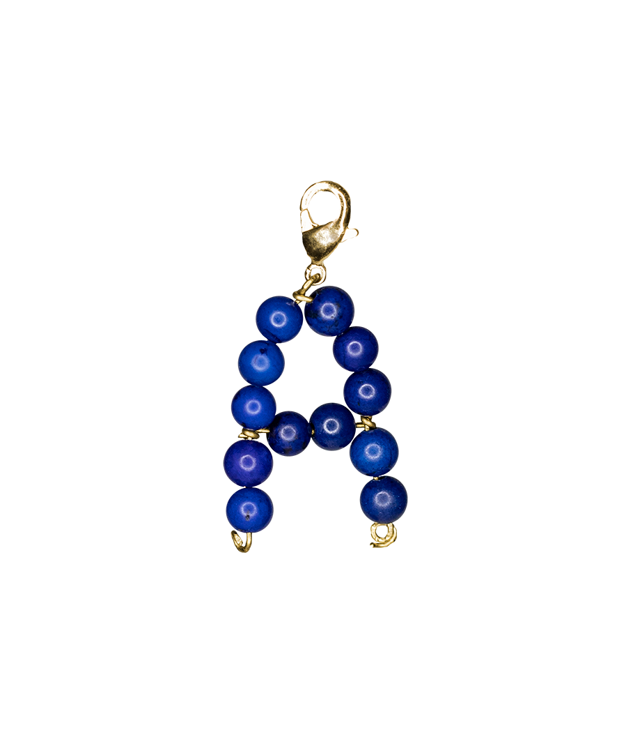 Dark blue alphabet by Timeless Pearly