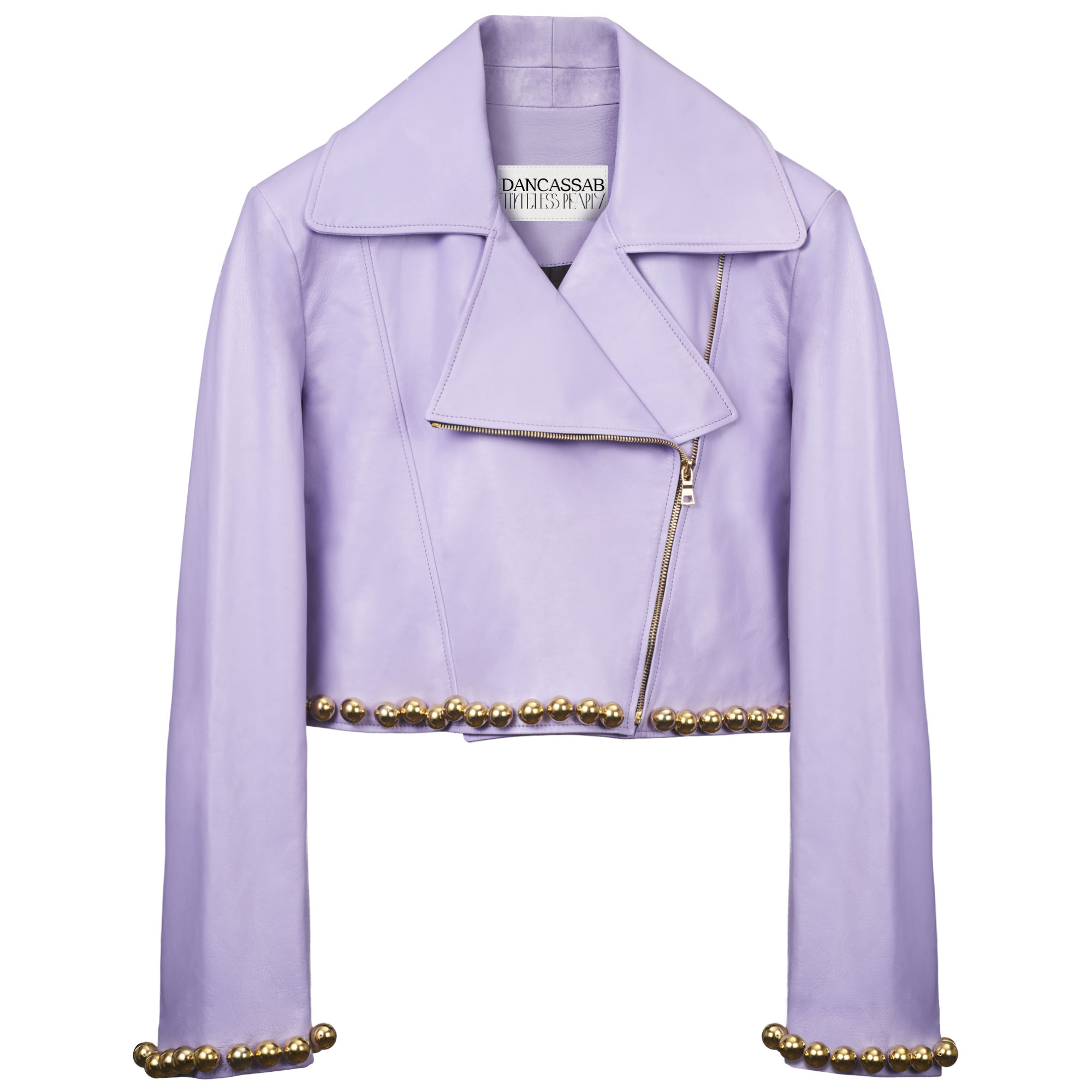 Alexa in lilac jacket by Timeless Pearly and Dancassab